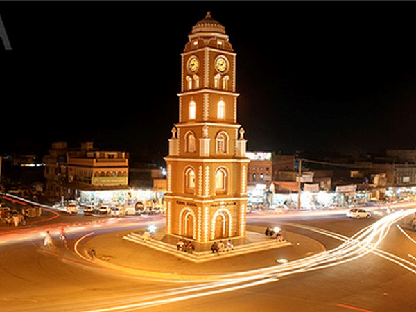 CLOCK TOWER OF SIALKOT